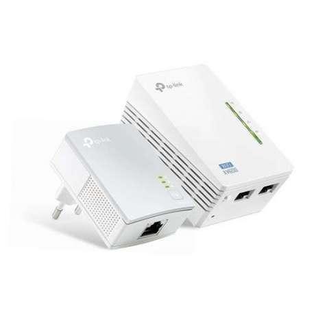 TP-LINK Kit De Démarrage extenseur CPL AV600 Wi-Fi N 300(TL-WPA4220KIT)