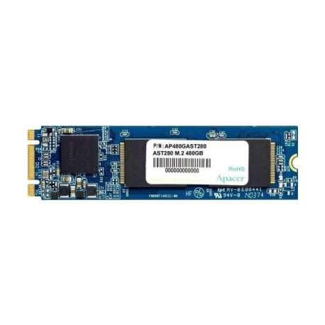 Apacer Lecteur interne M.2 480 GB AST280 M.2 SATA III SSD(AP480GAST280-1)