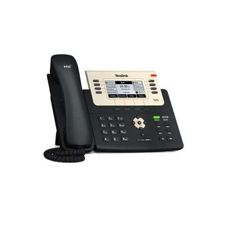 Yealink Télephone de bureau PoE T2(SIP-T27G)