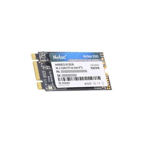 Netac Lecteur Interne M.2 SSD 512 GB 2242 PCIE NVME(NT01N930ES-512G-E2X)
