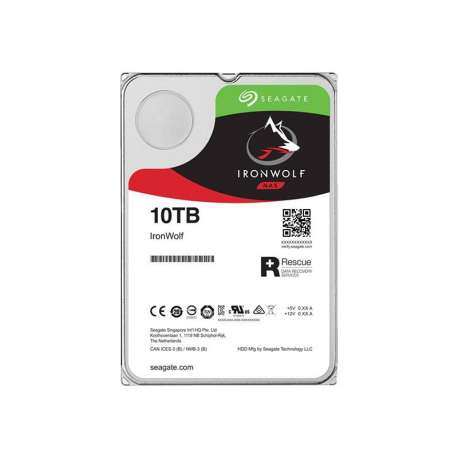Seagate IronWolf Disque Dur Interne NAS 10TO(ST10000VN0008)