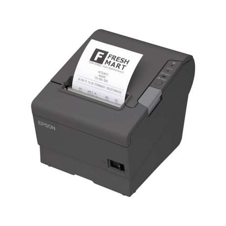 Epson Imprimante éliquettes Noire Série USB + Alimentation TM-T88V(C31CA85042)