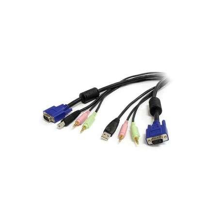 Câble KVM USB + AUDIO 1.80m(STCON033)
