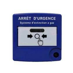 ESSER Couvercle bleu pour DM arret extinction (704901)