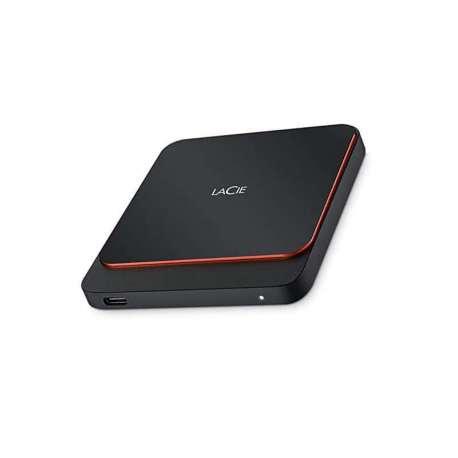 Lacie Disque Dur Externe 1TB SSD USB 3.1 Type-C(STHK1000800)