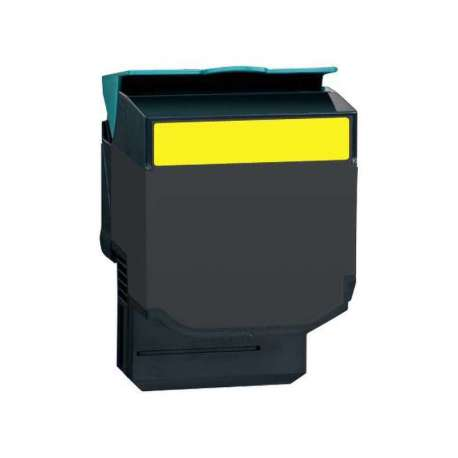 Lexmark Toner Adaptable CX410/510 Jaune(CX410/510 HV)